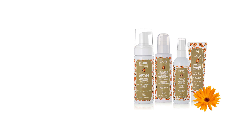 P'URE Papayacare Baby Range by G&M Cosmetics