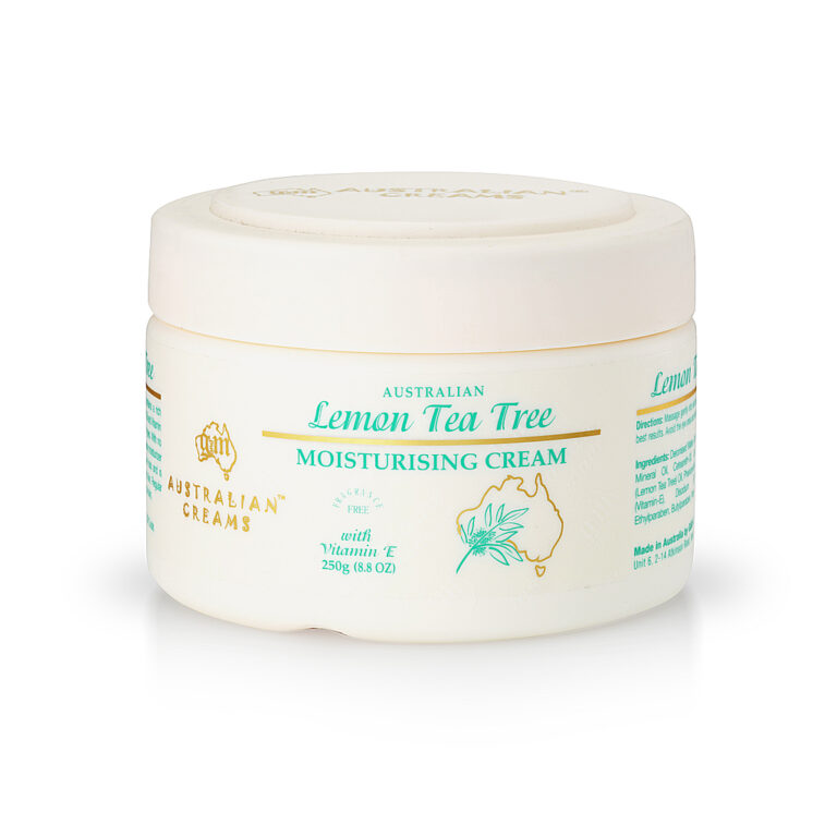 Australian Creams Lemon Tea Tree Moisturising Cream