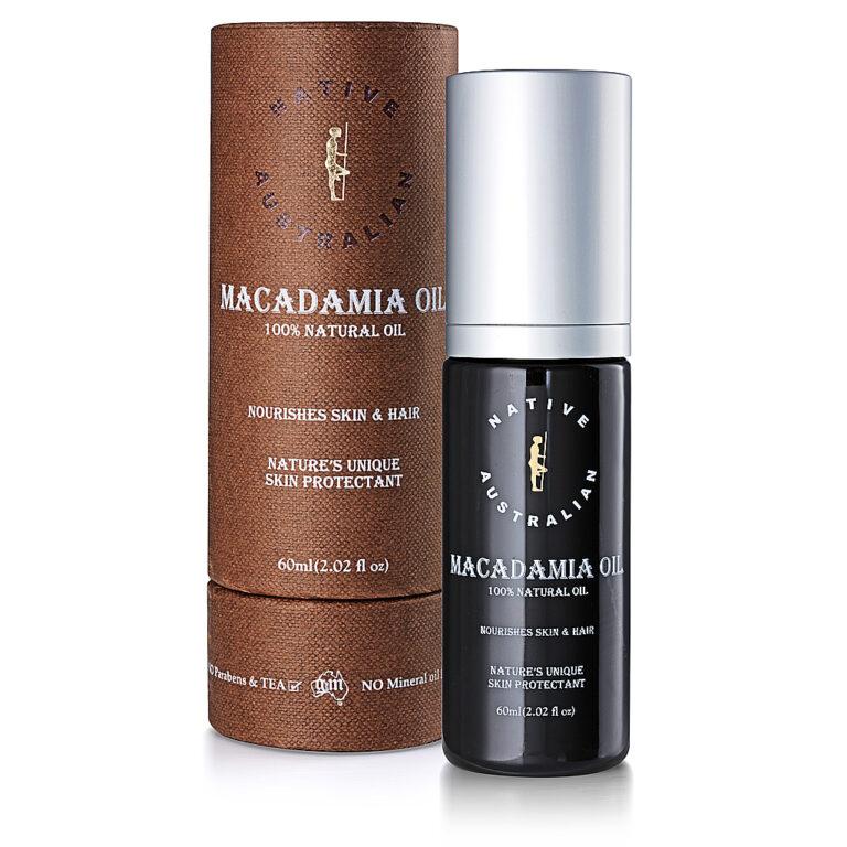 Native Australian Certified Organic Macadamia Oil