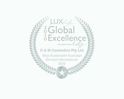 G&M COSMETICS WINS LUX GLOBAL EXCELLENCE AWARD
