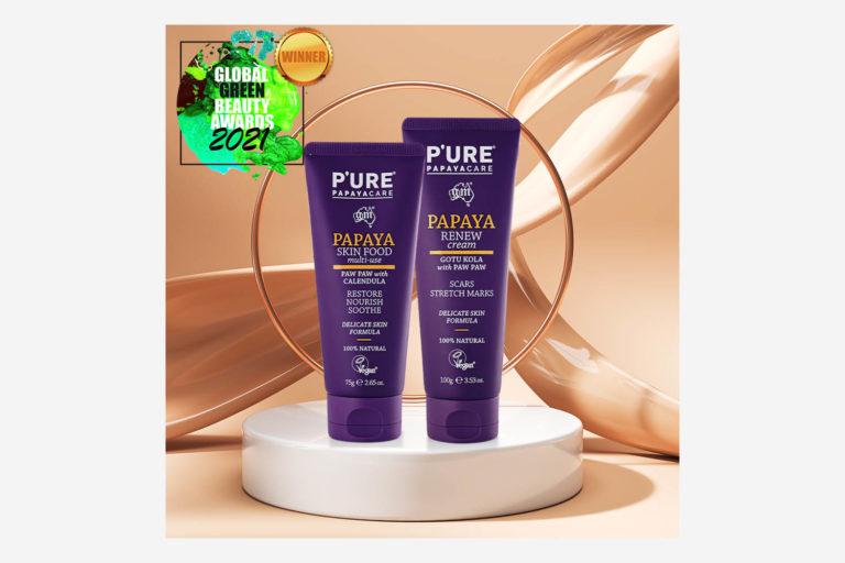 Global Green Beauty Awards 2021 Gold Winner